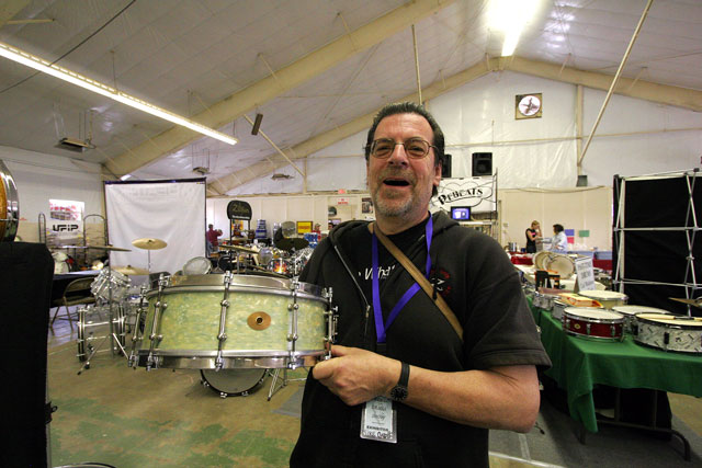 Mike Curotto, the man himself!  Photo courtesy of drumsmith.com