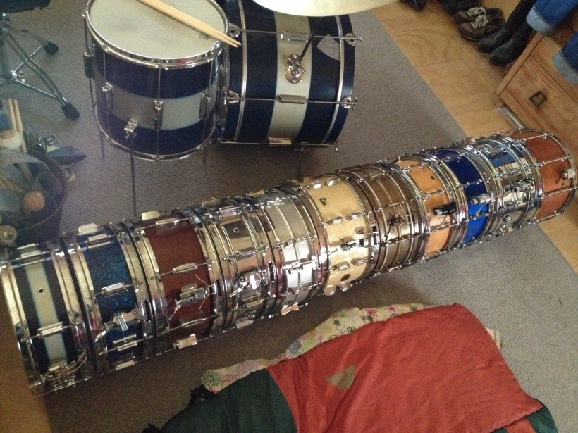 Rogers, Ludwig, Slingerland, Bleifuss, Pearl & Craviotto