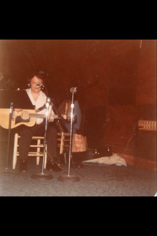 Big George Sluppick, Stairway Studios in Memphis -- c. 1971