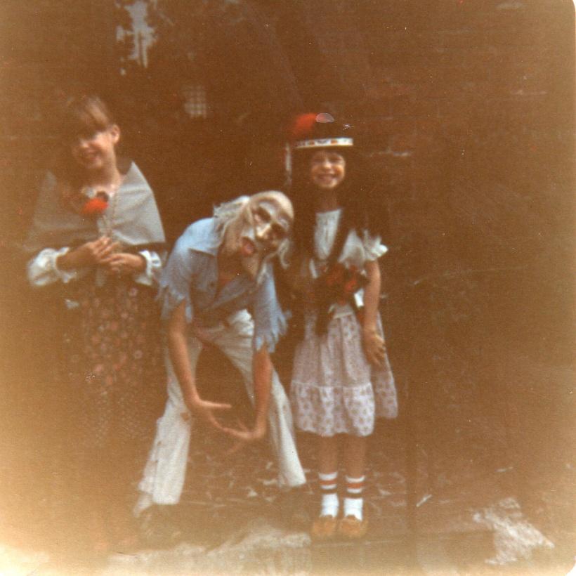 Sluppick siblings.  Dawne, me & Audra.