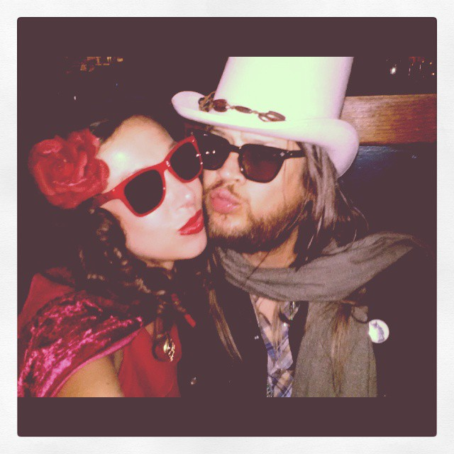 Little Red Rocking Hood & Leon Russell, Halloween 2013, Los Angeles