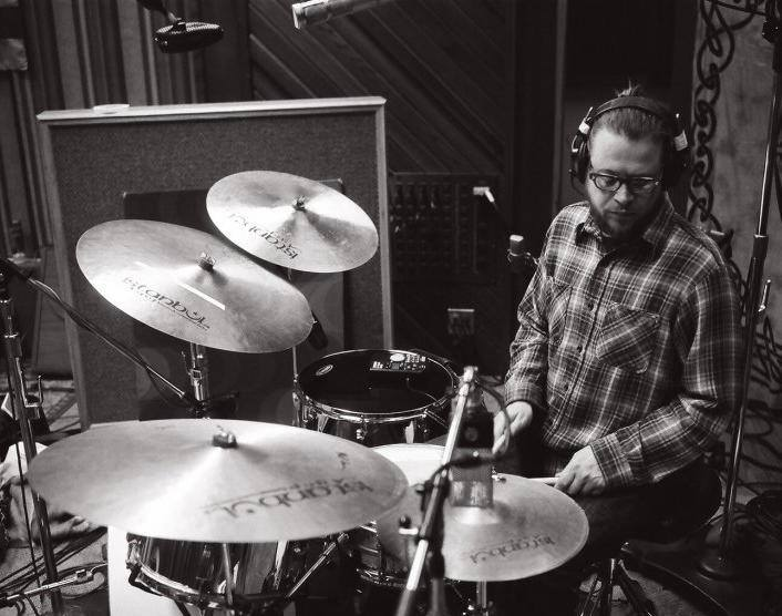 CRB sessions, Sunset Sound Studios, Los Angeles, 2012...courtesy of Neal Casal.