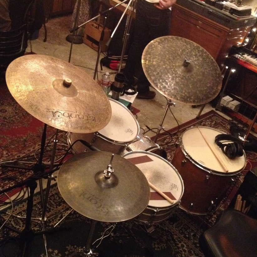 Istanbul Agop, Ludwig, Slingerland, Leedy, Craviotto and (of course) Rogers, were all in attendance at the party.