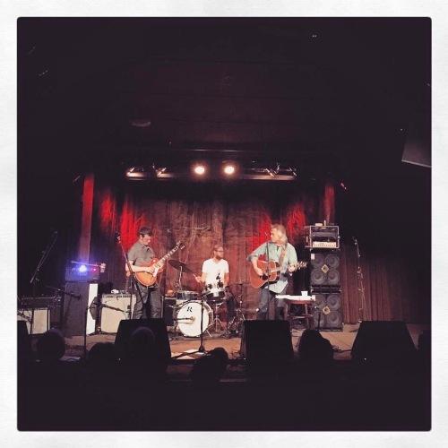 The three of us, on stage at Terrapin Crossroads, San Rafael, CA -- Courtesy of Drew Johnson